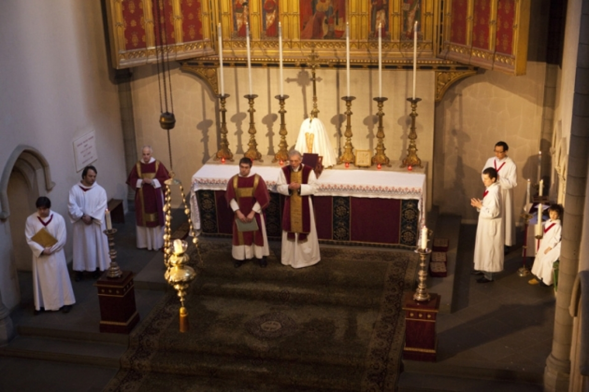 At the High Altar