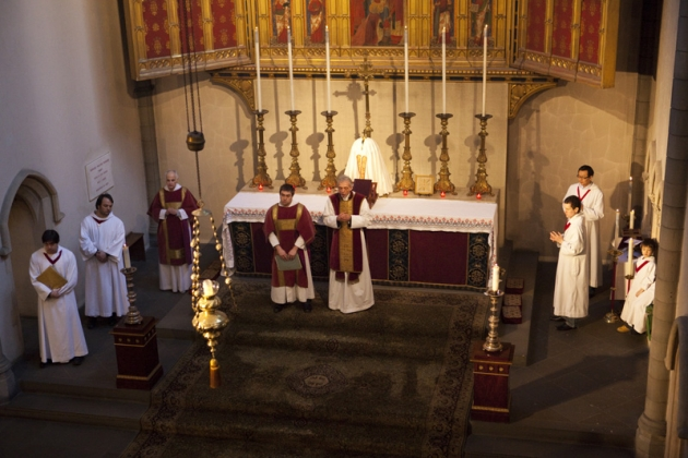Lg At the High Altar